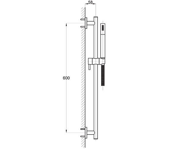 Technical drawing QS-V30734 / EL/228/C