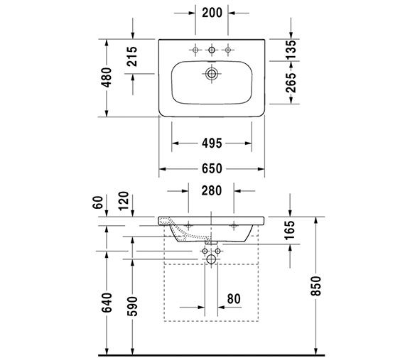 Technical drawing QS-V24963 / DS618001818