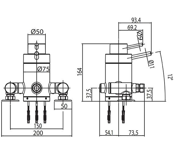 Technical drawing QS-V61461 / SHOW39
