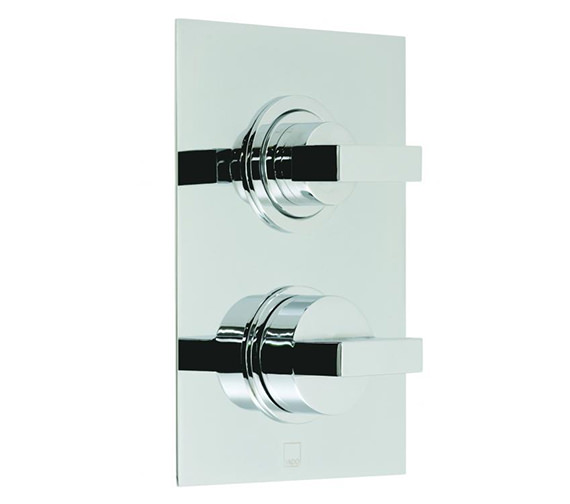 Vado Notion Concealed Thermostatic Shower Valve With Integrated Diverter