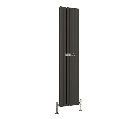 Reina Flat Vertical Double Panel Radiator 440 x 1800mm Anthracite