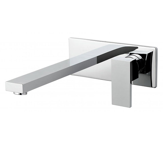 Vado Notion 2 Hole Basin Mixer Tap With Extended 220mm Spout