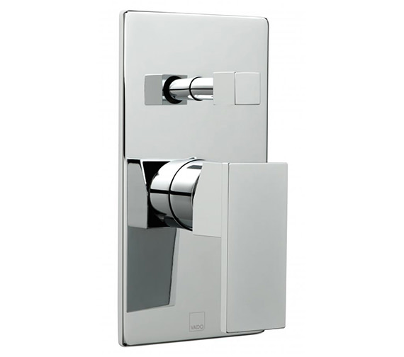 Vado Notion Wall Mounted Concealed Shower Mixer Valve With Diverter