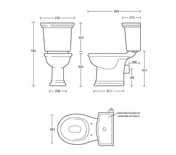 Technical drawing QS-V40582 / FI1WC01030