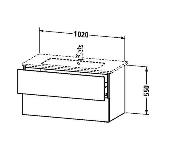 Technical drawing QS-V63336 / LC624201818