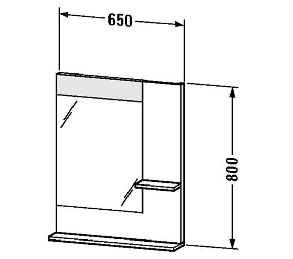 Technical drawing QS-V4373 / VE732001818