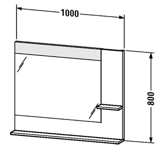 Technical drawing QS-V4375 / VE732201818