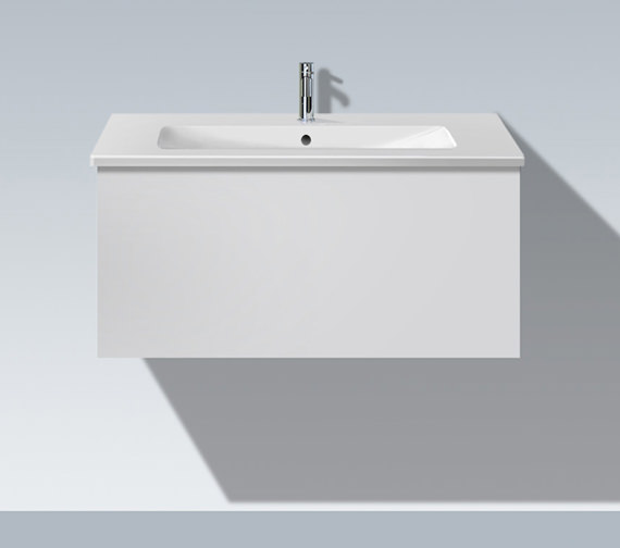 Duravit l cube 1020mm vanity unit with me by starck basin - Duravit bathroom furniture uk ...