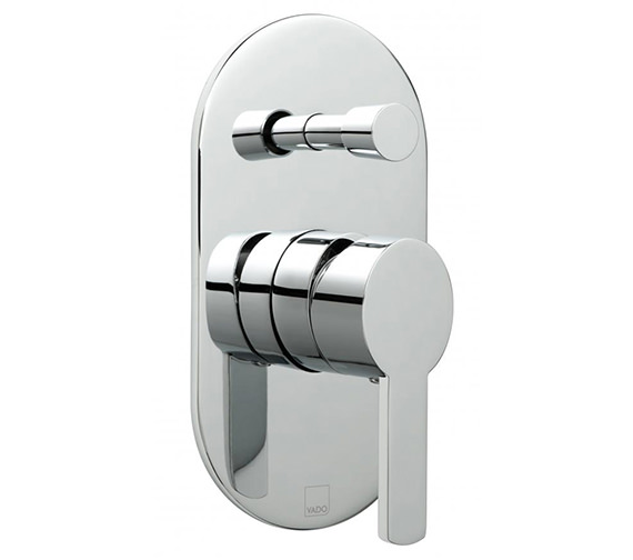 Vado Soho Wall Mounted Concealed Shower Valve With Diverter