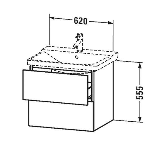 Technical drawing QS-V63341 / LC624401818