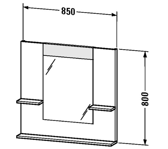 Technical drawing QS-V4383 / VE735001818