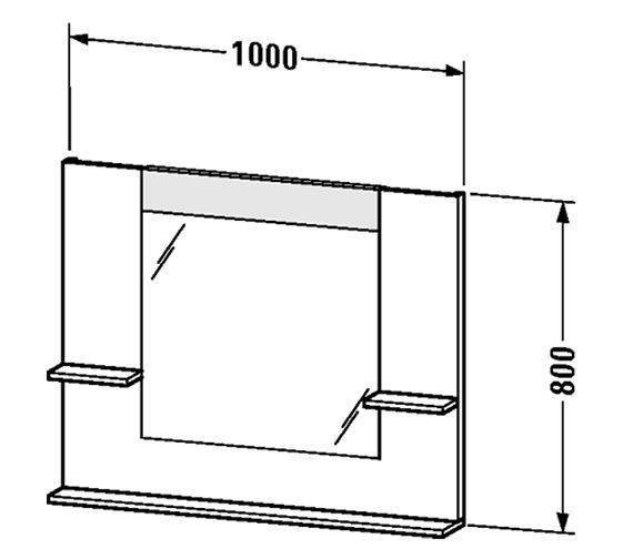 Technical drawing QS-V4384 / VE735101818