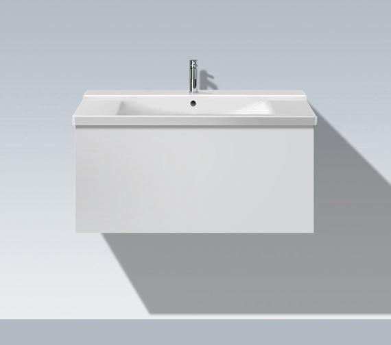 Duravit L Cube 820mm 1 Compartment Vanity Unit - LC614701818