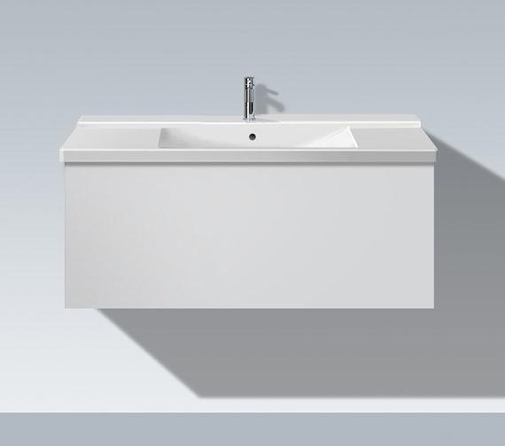 Duravit L Cube 1020mm 1 Compartment Vanity Unit - LC615001818