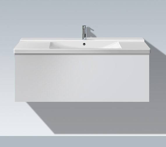 Duravit L Cube 1220mm 1 Compartment Vanity Unit - LC615301818