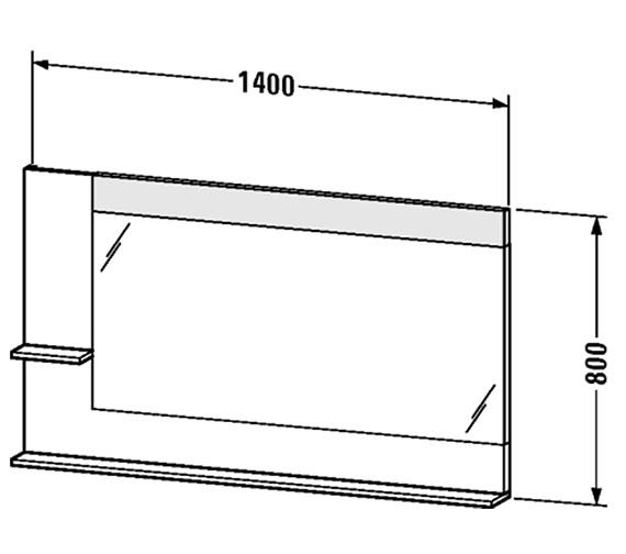Technical drawing QS-V4382 / VE731401818