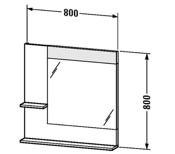 Technical drawing QS-V4379 / VE731101818