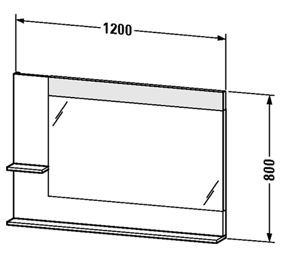 Technical drawing QS-V4381 / VE731301818