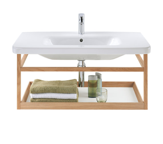 Duravit DuraStyle 940mm Wall Mounted ACC Shelf With 1000mm Basin