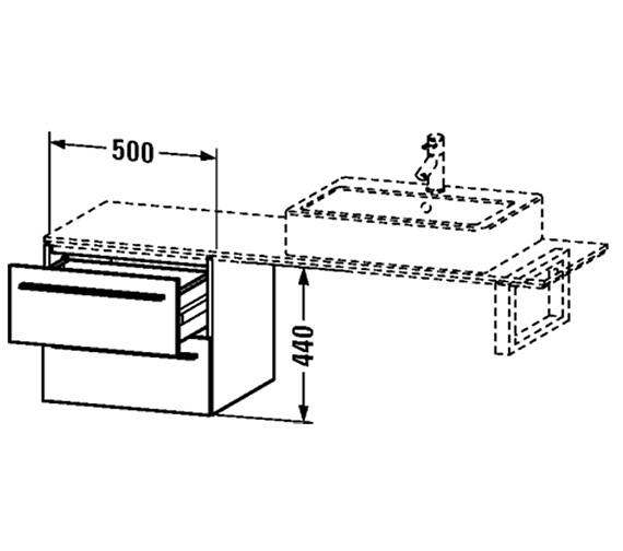 Technical drawing QS-V59570 / XL672301818