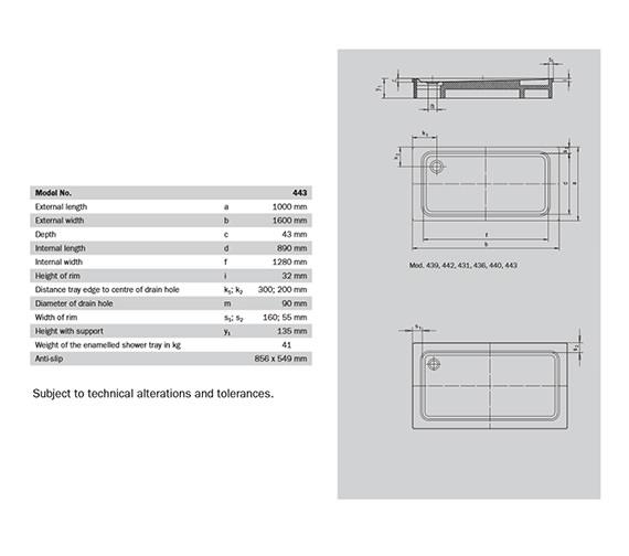 Technical drawing QS-V21726 / 434300010001
