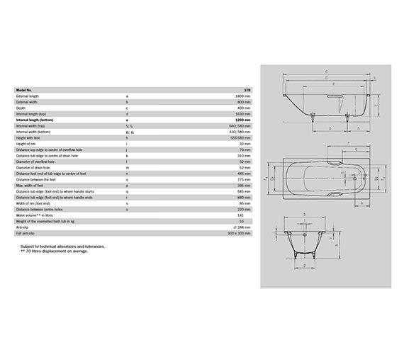Technical drawing QS-V35997 / KALS1800800