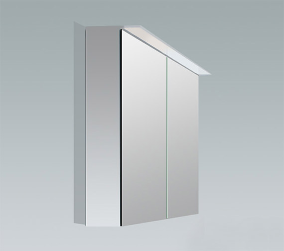 Duravit X-Large 600mm 2 Door Mirror Cabinet With LED Lighting