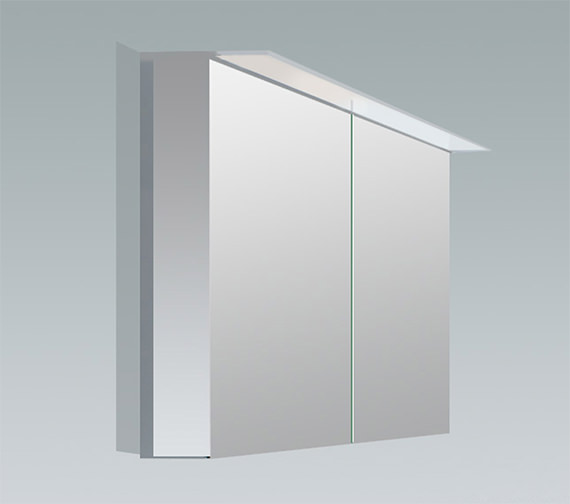 Duravit X-Large 1000mm 2 Door Mirror Cabinet With LED Lighting