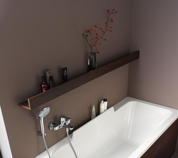 Duravit DuraStyle 600 x 130mm White Matt Wall Board - DS791101818