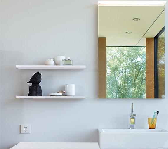 Duravit X-Large White High Gloss 600 x 160mm Wall Board - XL791202222
