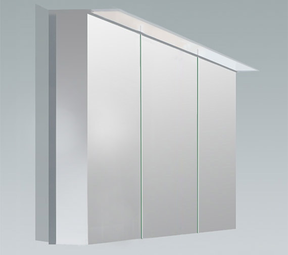 Duravit X-Large 1200mm 3 Door Mirror Cabinet With LED Lighting