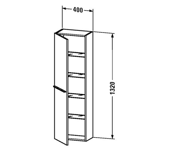 Technical drawing QS-V59590 / XL1152L1818