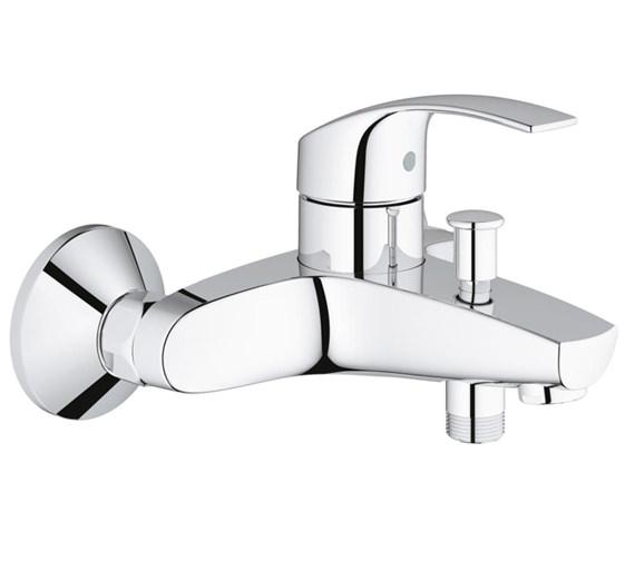 Grohe Eurosmart Wall Mounted Bath Shower Mixer Tap - 33300002