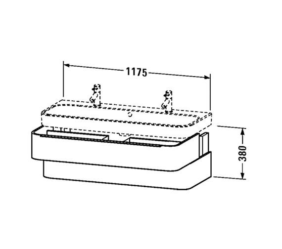 Technical drawing QS-V63451 / H2636702222