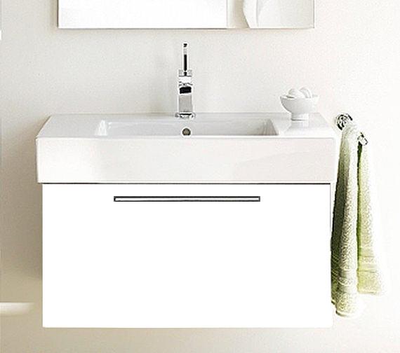 Duravit Fogo 800mm Vanity Unit With 850mm Vero Washbasin