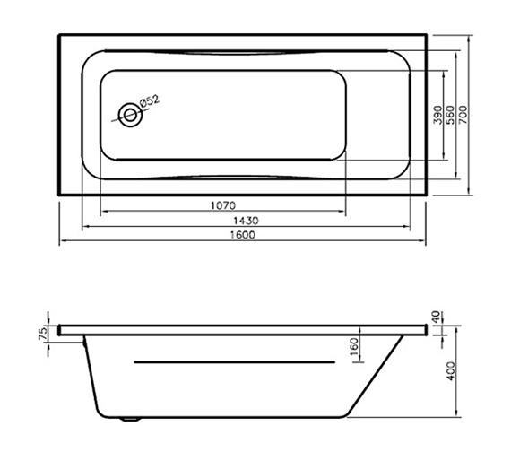 Technical drawing QS-V29951 / BH063S2