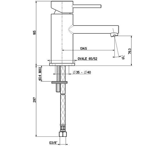 Technical drawing QS-V15878 / 1932C