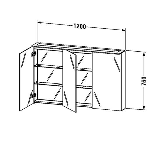 Technical drawing QS-V63459 / H2759602222