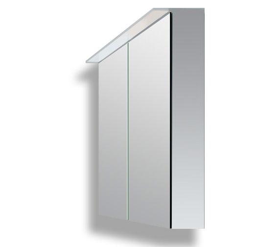 Duravit Happy D2 800mm White Mirror Cabinet - H2759402222