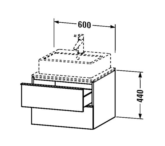 Technical drawing QS-V24830 / H2630002222