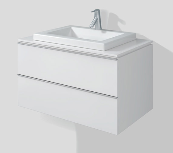 Duravit Happy D2 Unit For Console 800 x 478mm - H2631102222