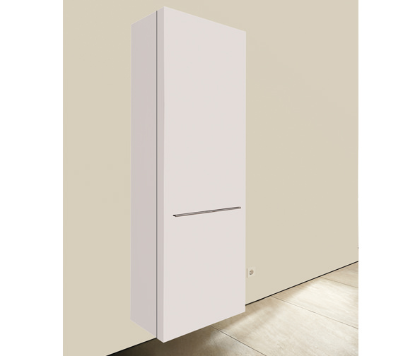 Duravit fogo 500 x 250mm left handed tall cabinet for Bathroom cabinets 250mm