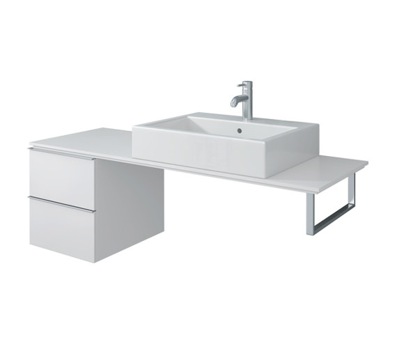 Duravit Happy D2 Cabinet For Console 400 x 548mm - H2 6831