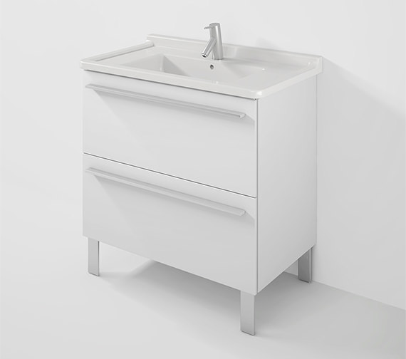 Duravit X-Large 800mm Wall Mounted Vanity Unit With 850mm Starck 3 Basin
