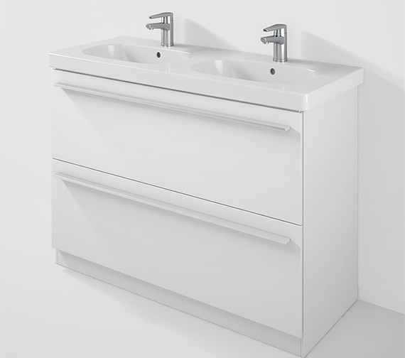 Duravit X-Large 1150mm Floor Mounted Unit And 1200mm D-Code Basin