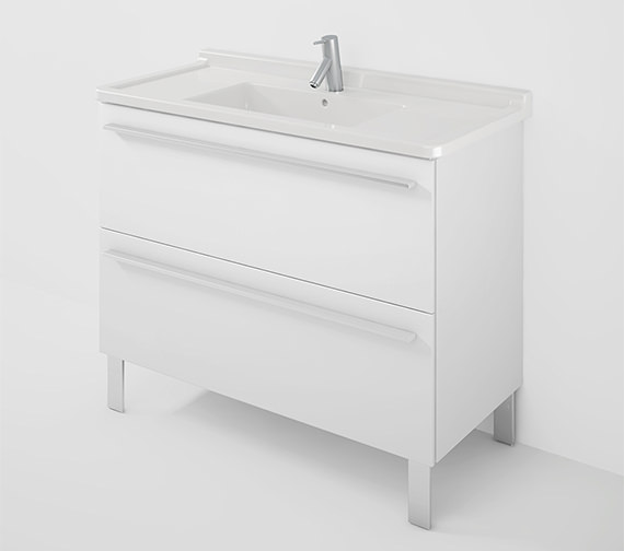Duravit X-Large 1000mm Wall Mounted Vanity Unit With 1050mm Starck 3 Basin