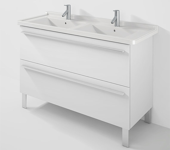 Duravit X-Large 1200mm Wall Mounted Vanity Unit With 1300mm Starck 3 Basin
