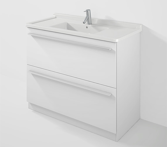 Duravit X-Large 1000mm Floor Mounted Vanity Unit With 1050mm Starck 3 Basin