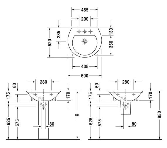 Technical drawing QS-V59270 / 2621600000