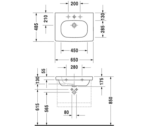 Technical drawing QS-V96233 / DS638301843